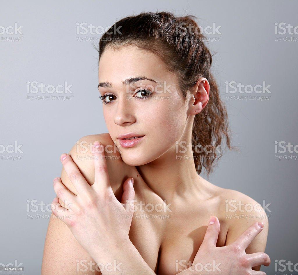 Pretty girl royalty-free stock photo