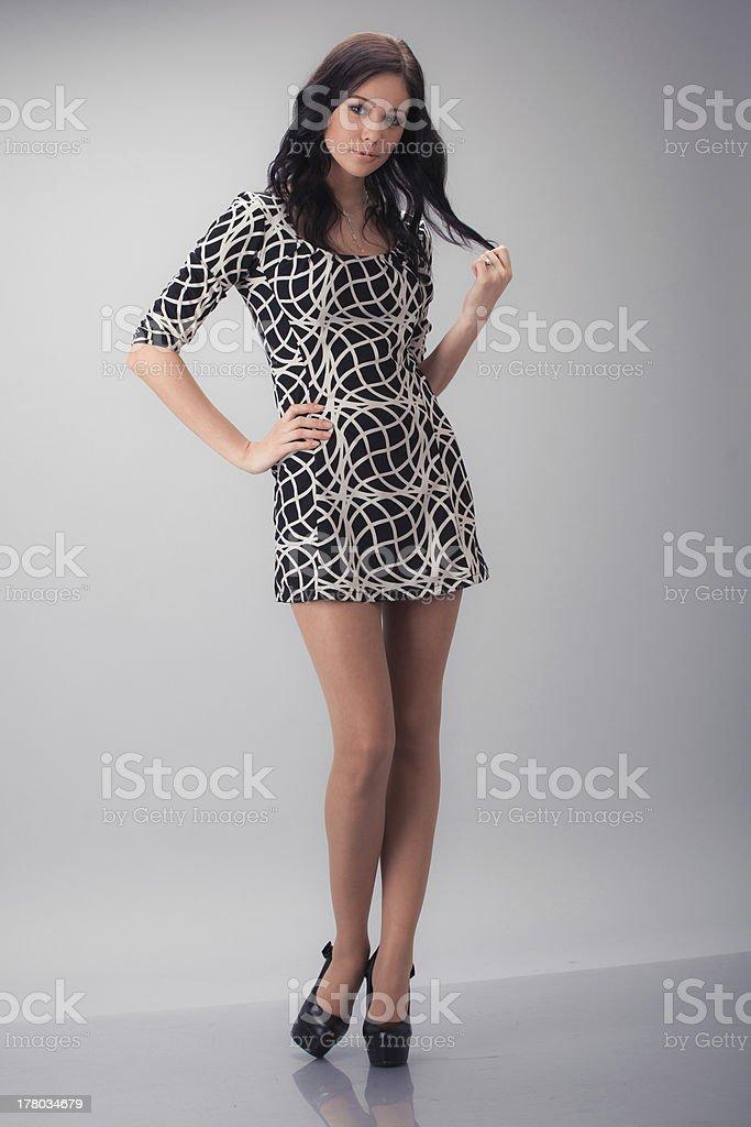 Hübsche Mädchen Lizenzfreies stock-foto