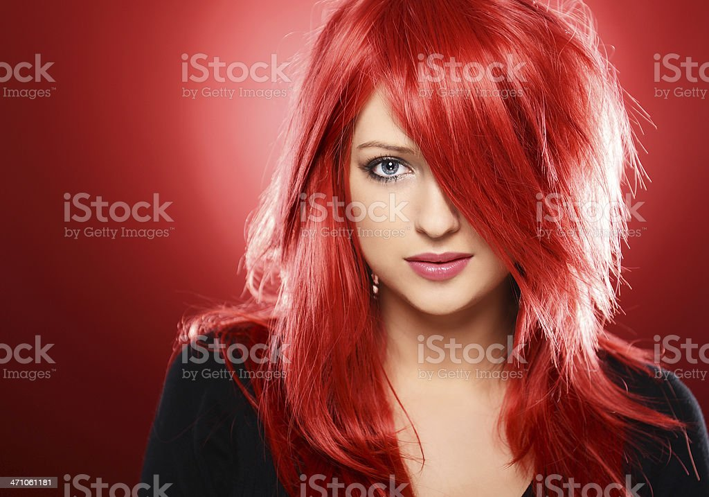 Pretty girl stock photo
