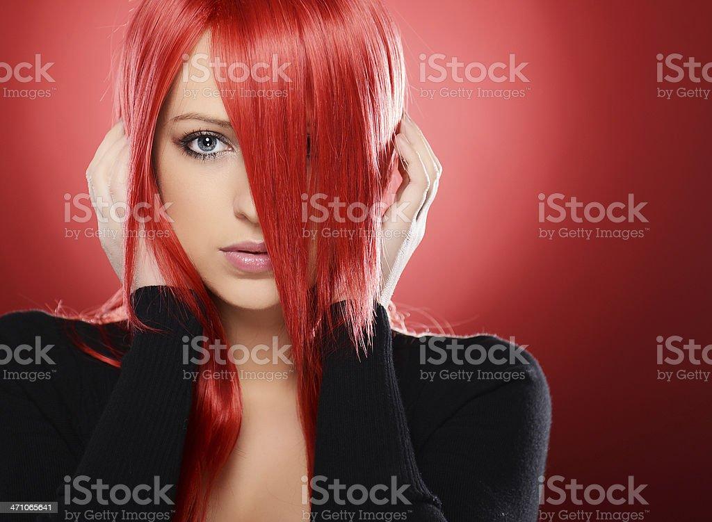 Pretty girl stock photo