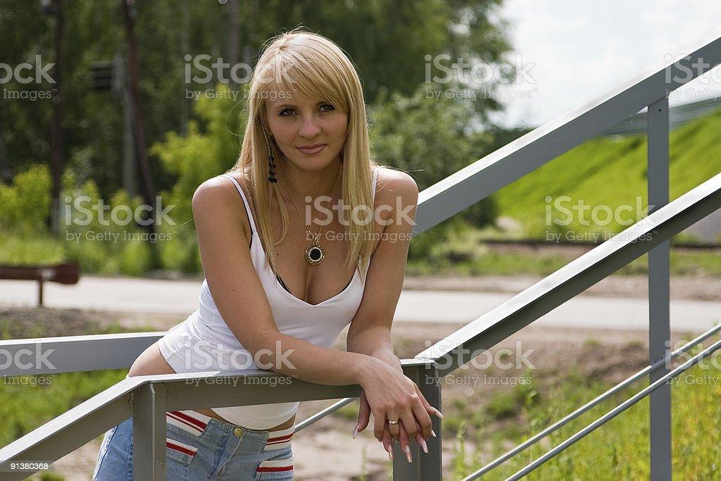 Pretty girl. royalty-free stock photo