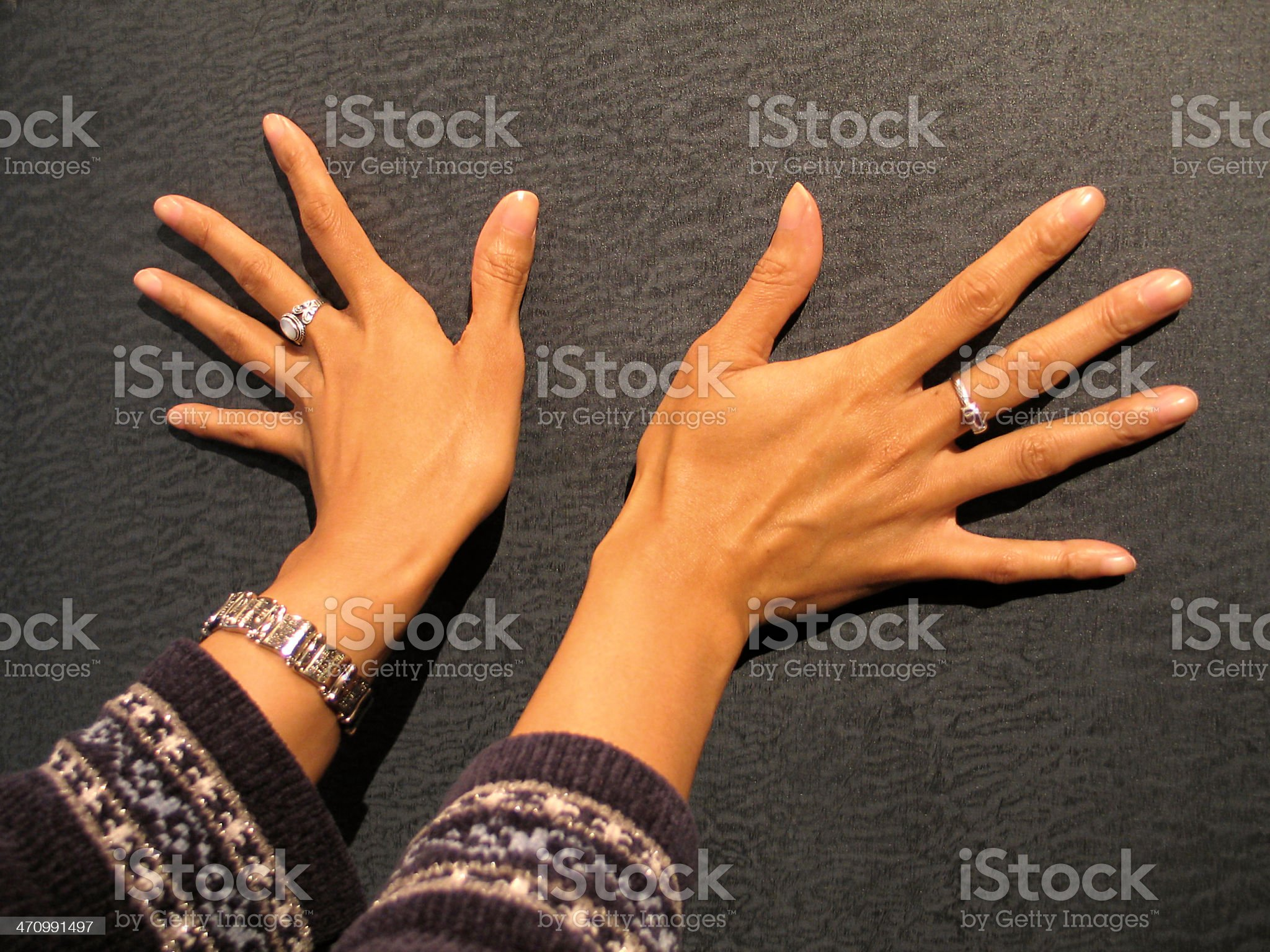 pretty hands royalty-free stock photo