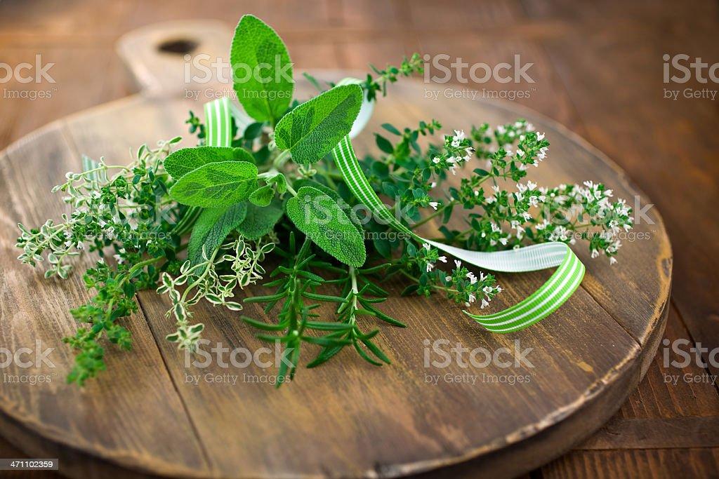 Pretty Herbs stock photo
