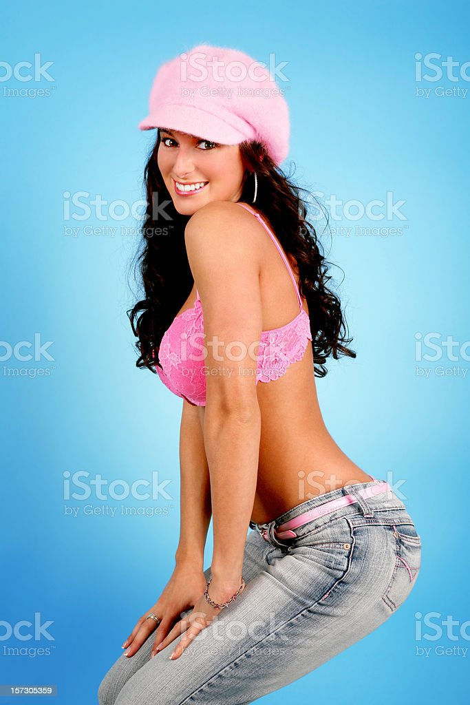 Pretty in Pink royalty-free stock photo