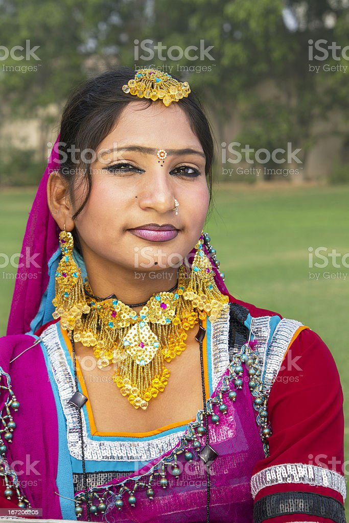 Pretty Indian girl royalty-free stock photo