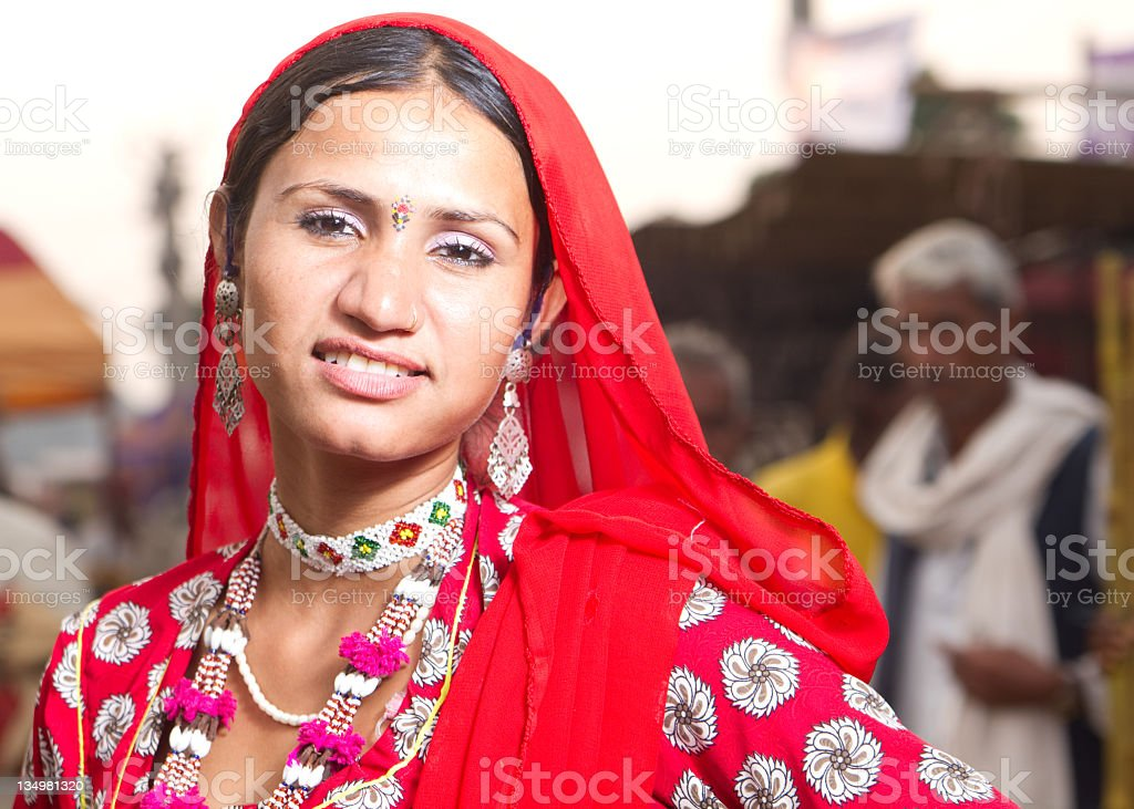 Pretty Indian Woman royalty-free stock photo