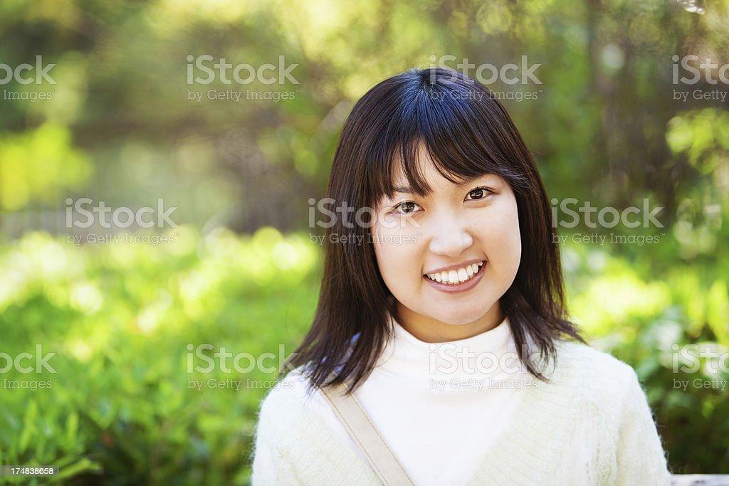 Pretty Japanese Woman royalty-free stock photo