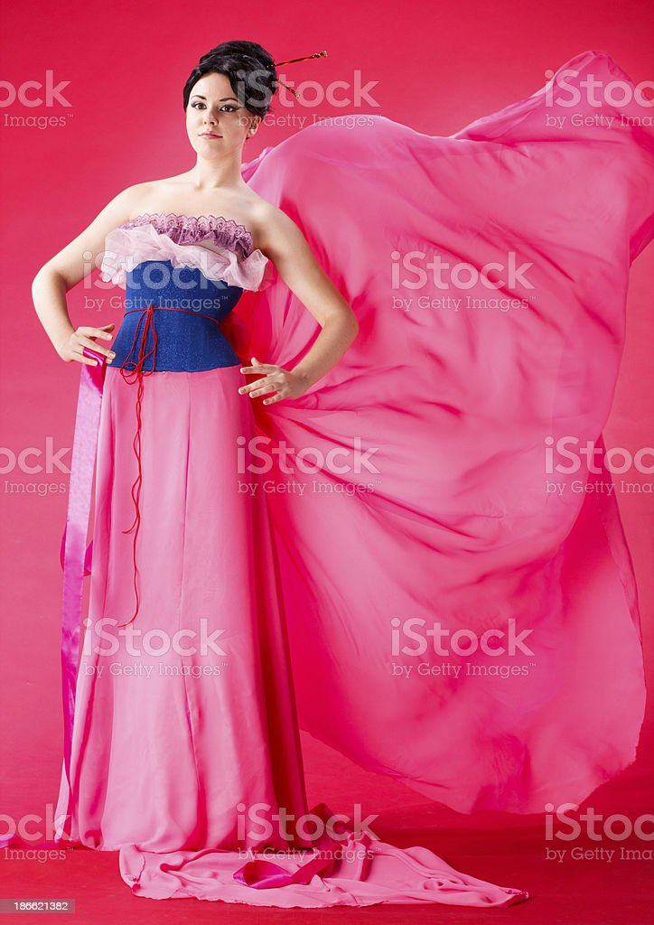 Pretty lady royalty-free stock photo