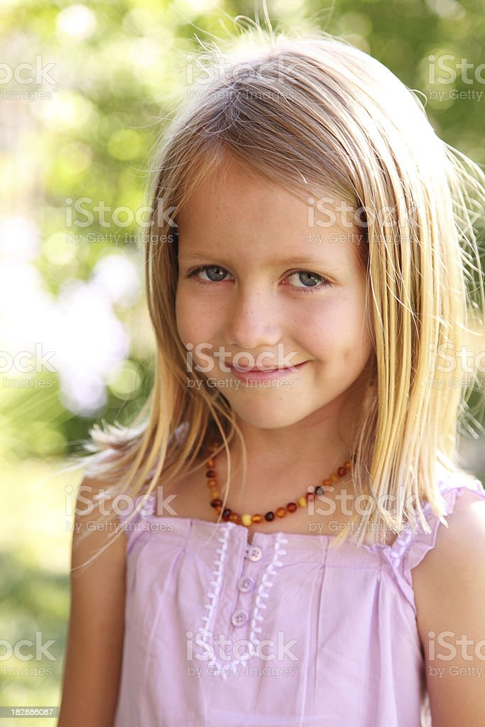 Pretty Little Girl royalty-free stock photo