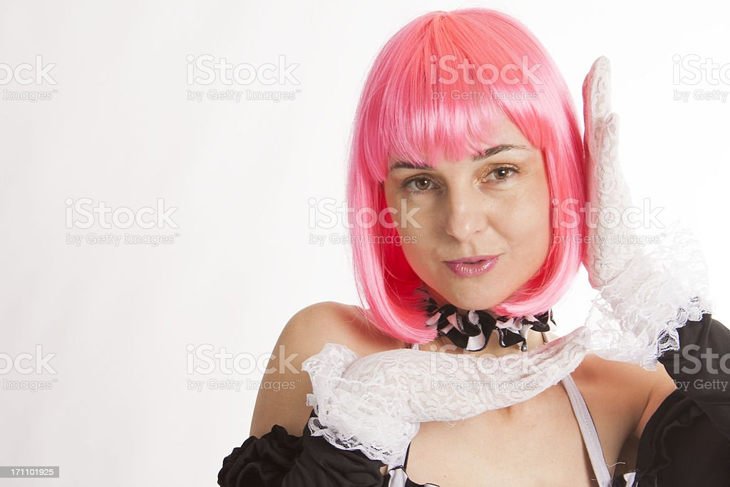 Pretty Mime royalty-free stock photo