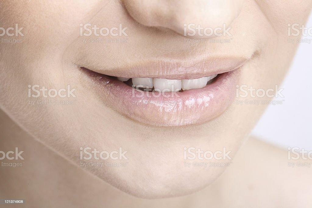 Pretty Mouth stock photo