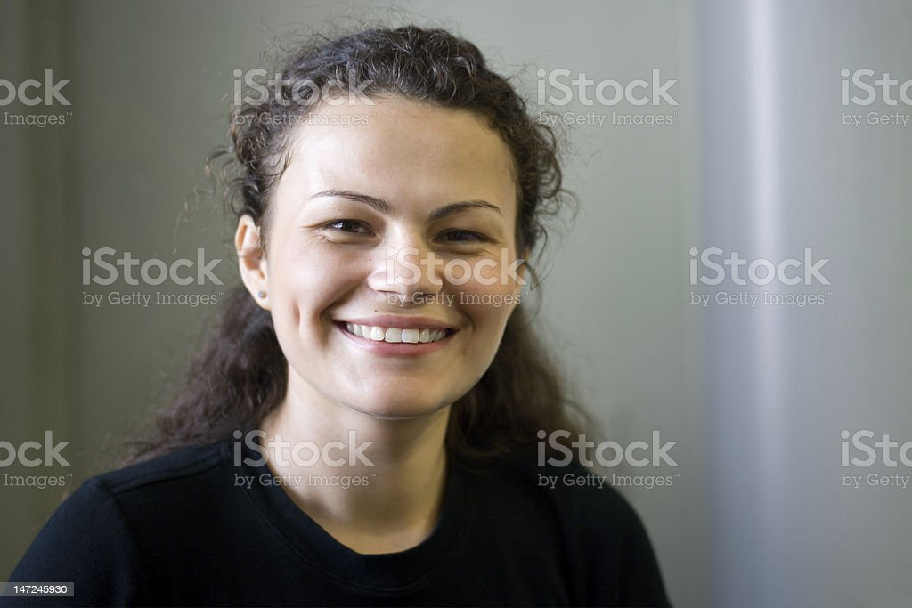 Pretty Smile royalty-free stock photo