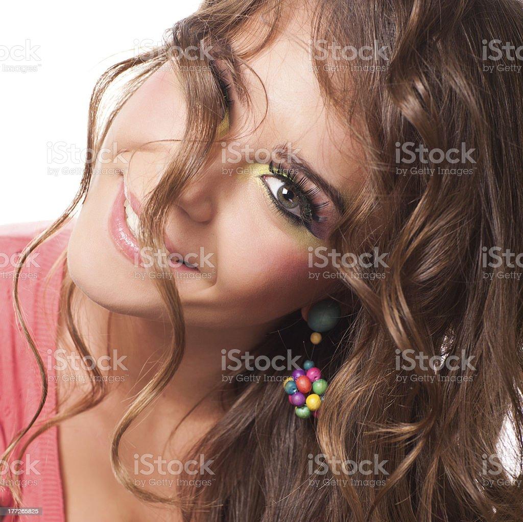 Joli sourire photo libre de droits
