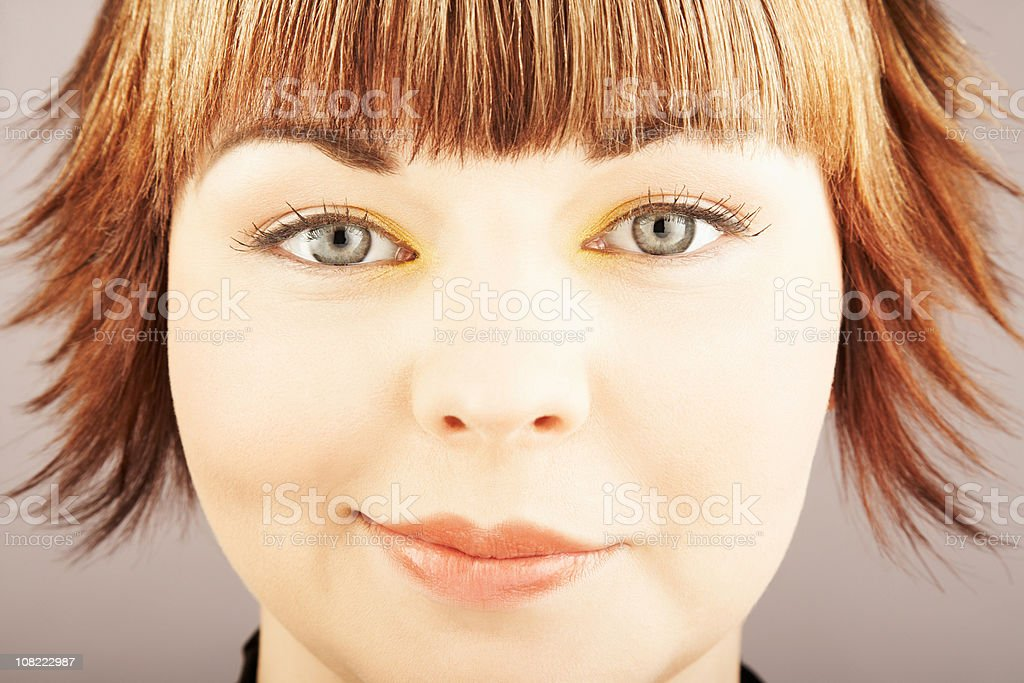 Pretty Smirk royalty-free stock photo