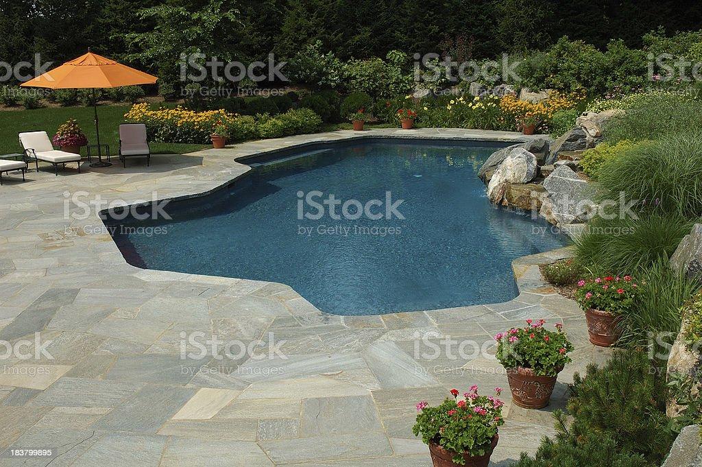 Pretty Swimming Pool royalty-free stock photo