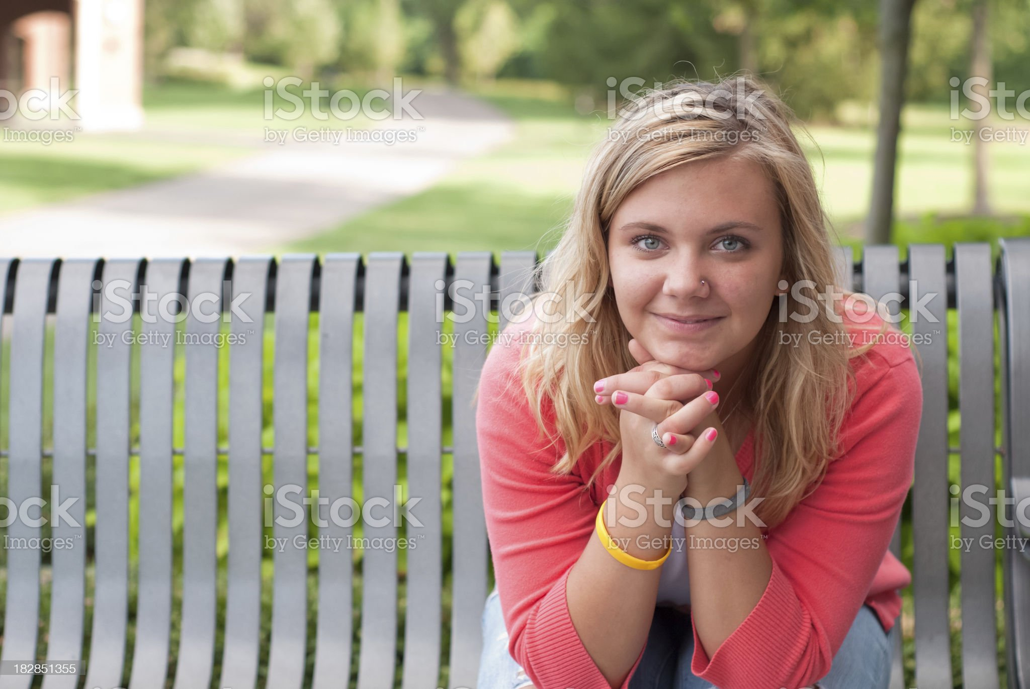 Pretty Teen royalty-free stock photo
