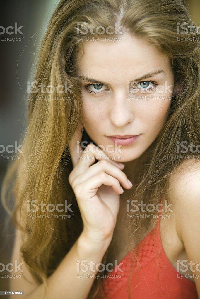 Pretty woman royalty-free stock photo
