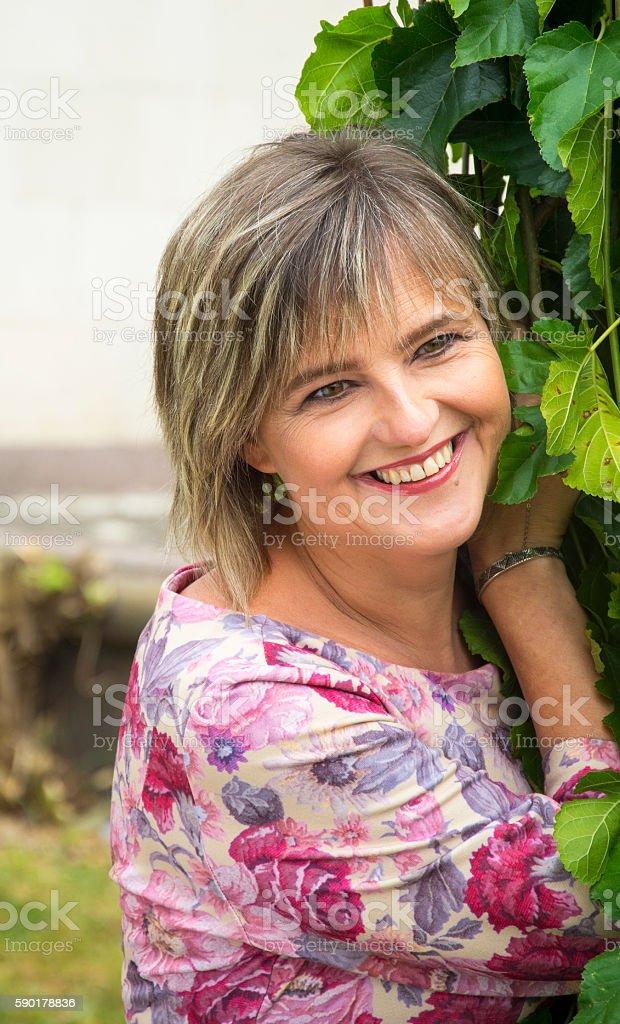 Pretty woman. stock photo
