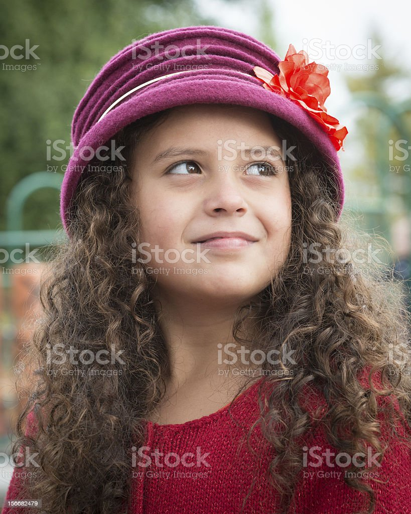 Pretty Young Girl royalty-free stock photo