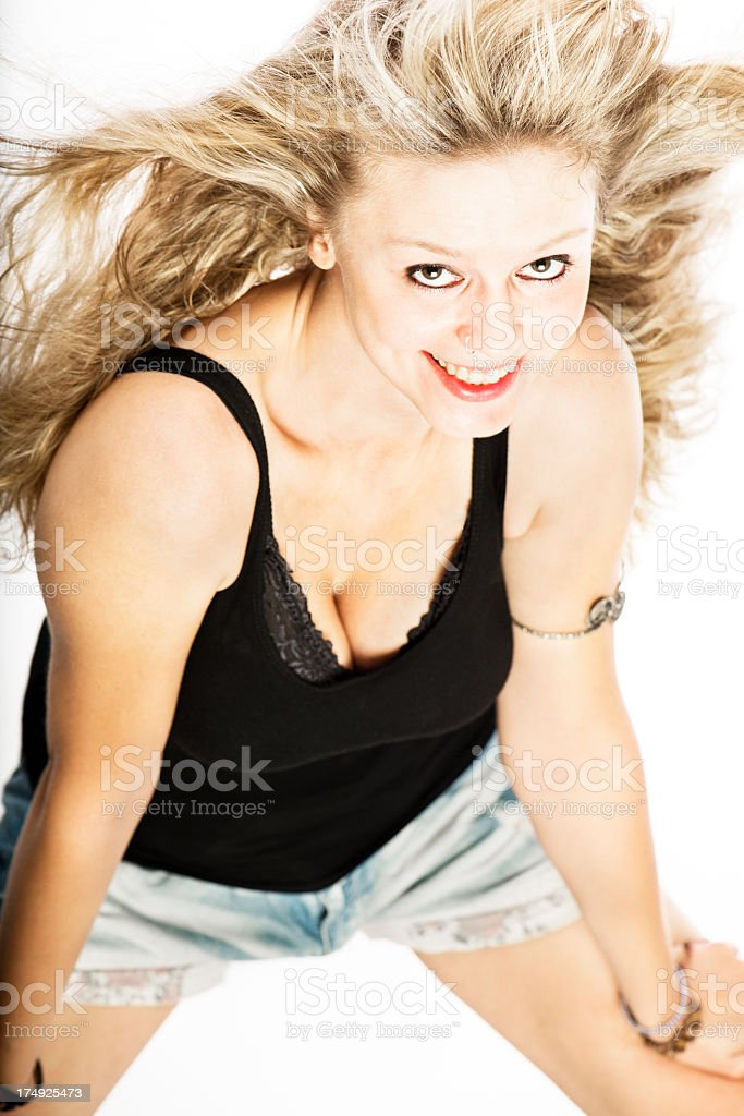 Pretty Young Woman royalty-free stock photo