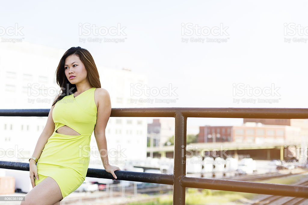 Pretty Young Woman stock photo