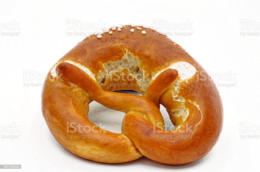 Pretzel Cut stock photo