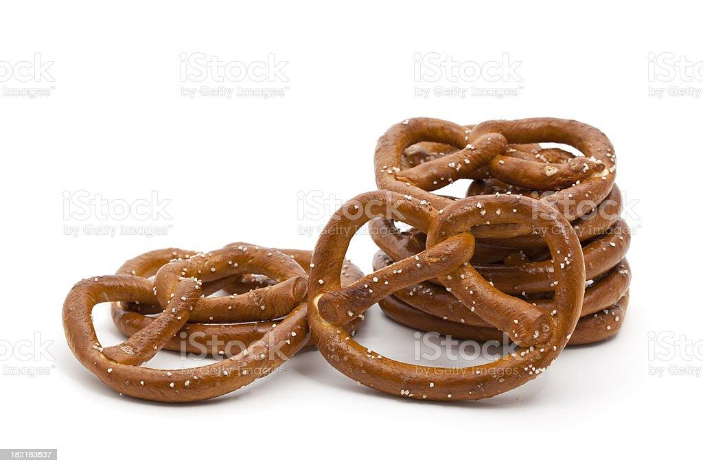 pretzel royalty-free stock photo