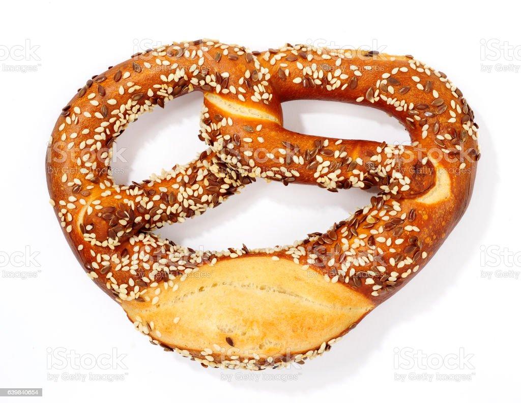 pretzel stock photo