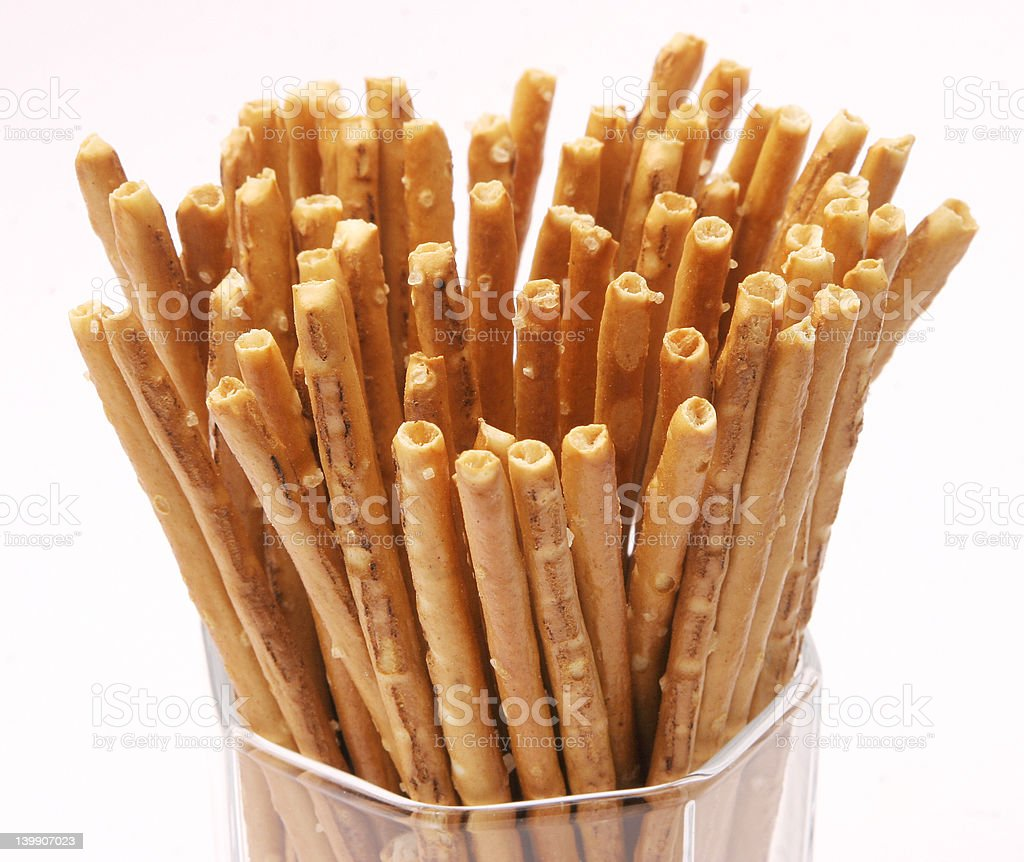 Pretzel Sticks royalty-free stock photo