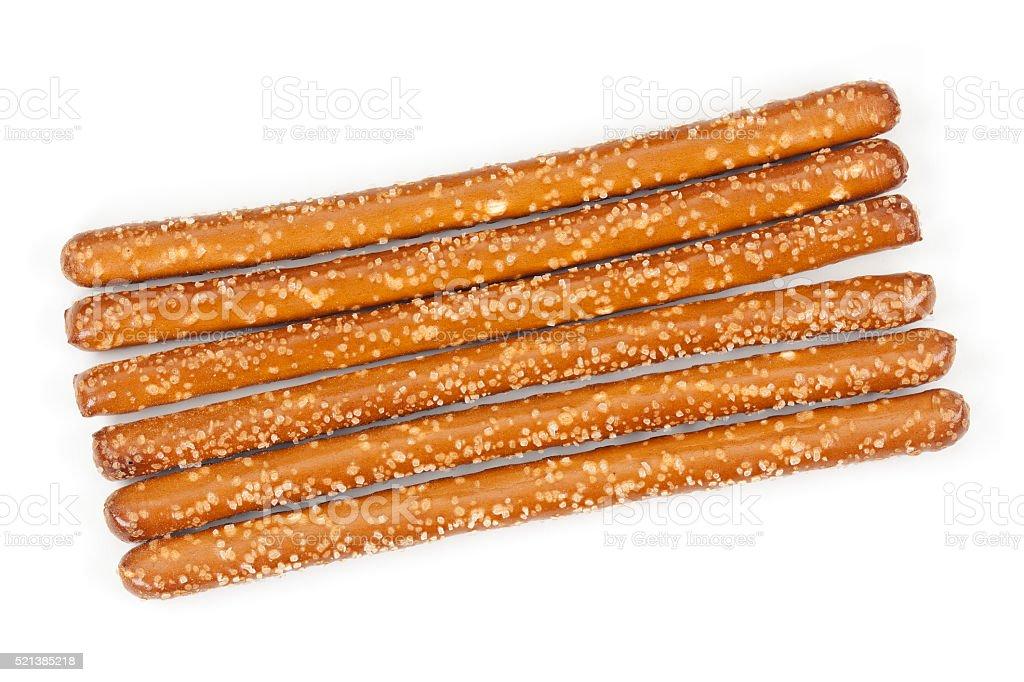 Pretzels Sticks Isolated stock photo
