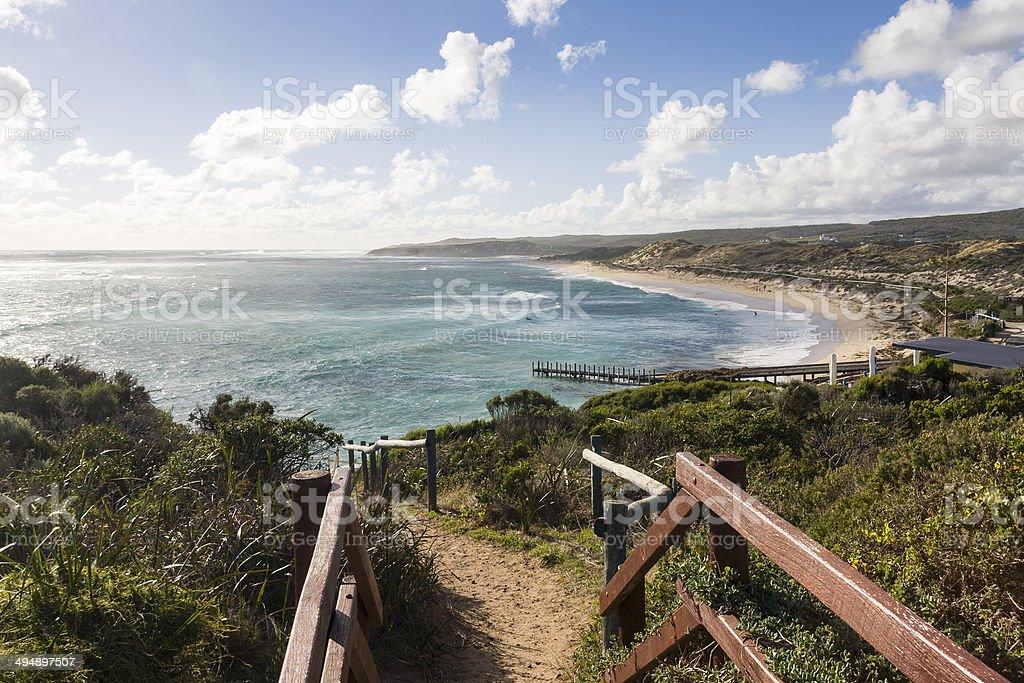 Prevelly Coast in the Margaret River region of Western Australia stock photo