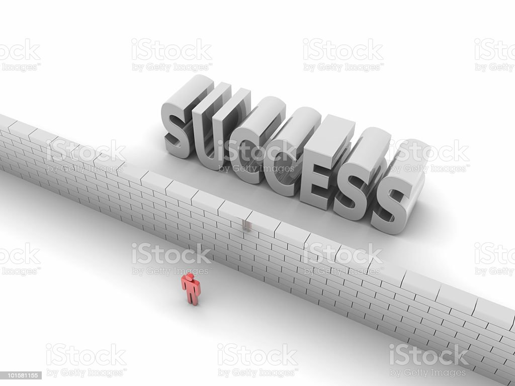 Prevented Success royalty-free stock photo