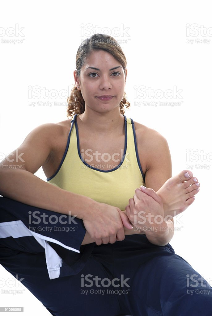Preventing injury royalty-free stock photo