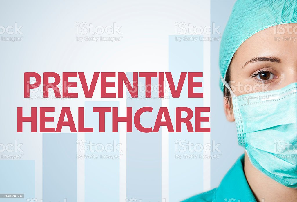 Preventive healthcare / Medicine concept (Click for more) stock photo