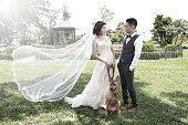 prewedding couple