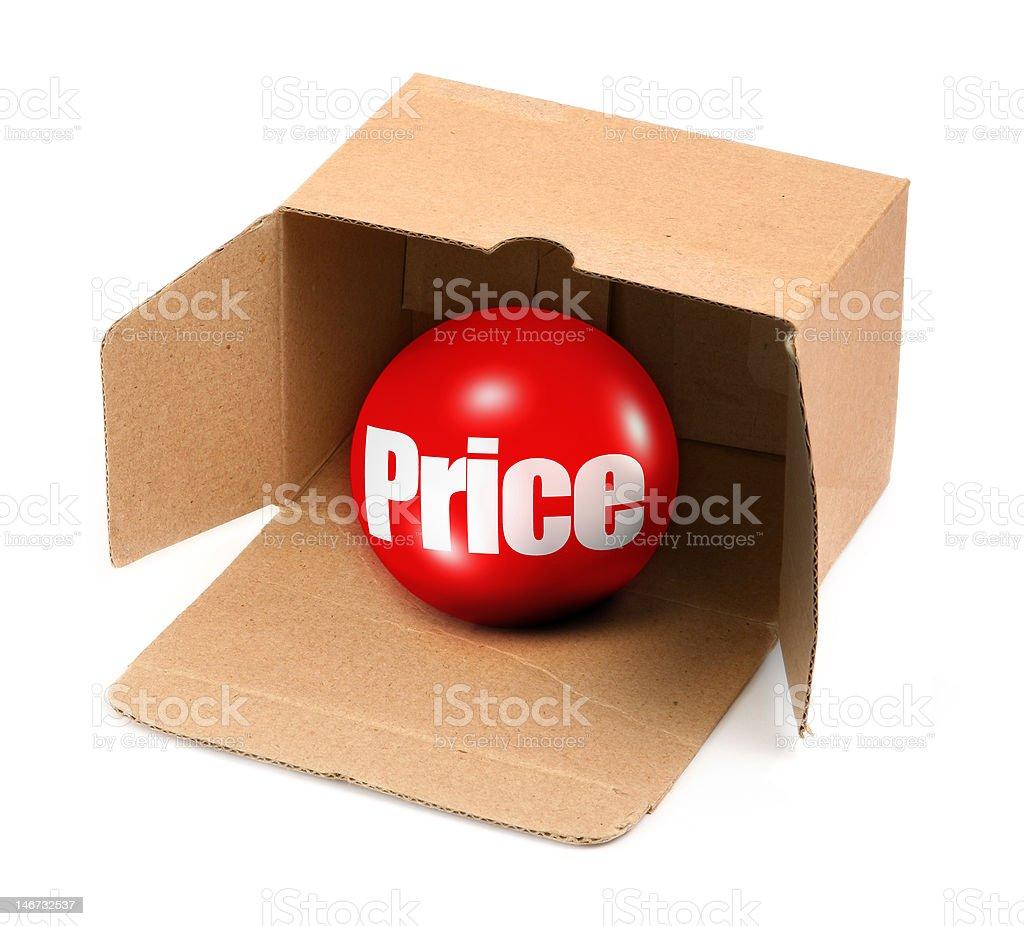 price concept royalty-free stock photo