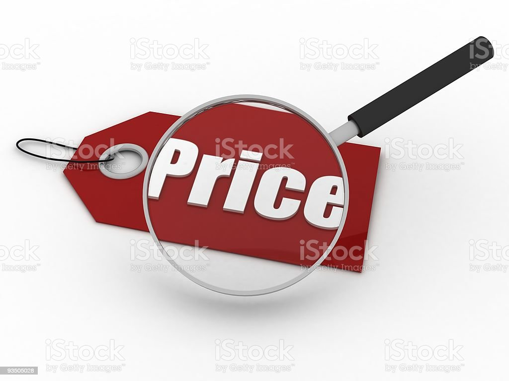 Price Search royalty-free stock photo