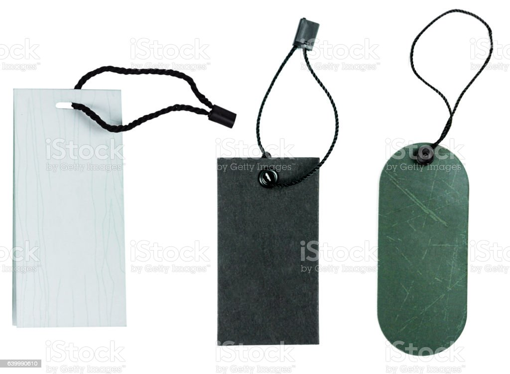 price tag clothing isolate stock photo