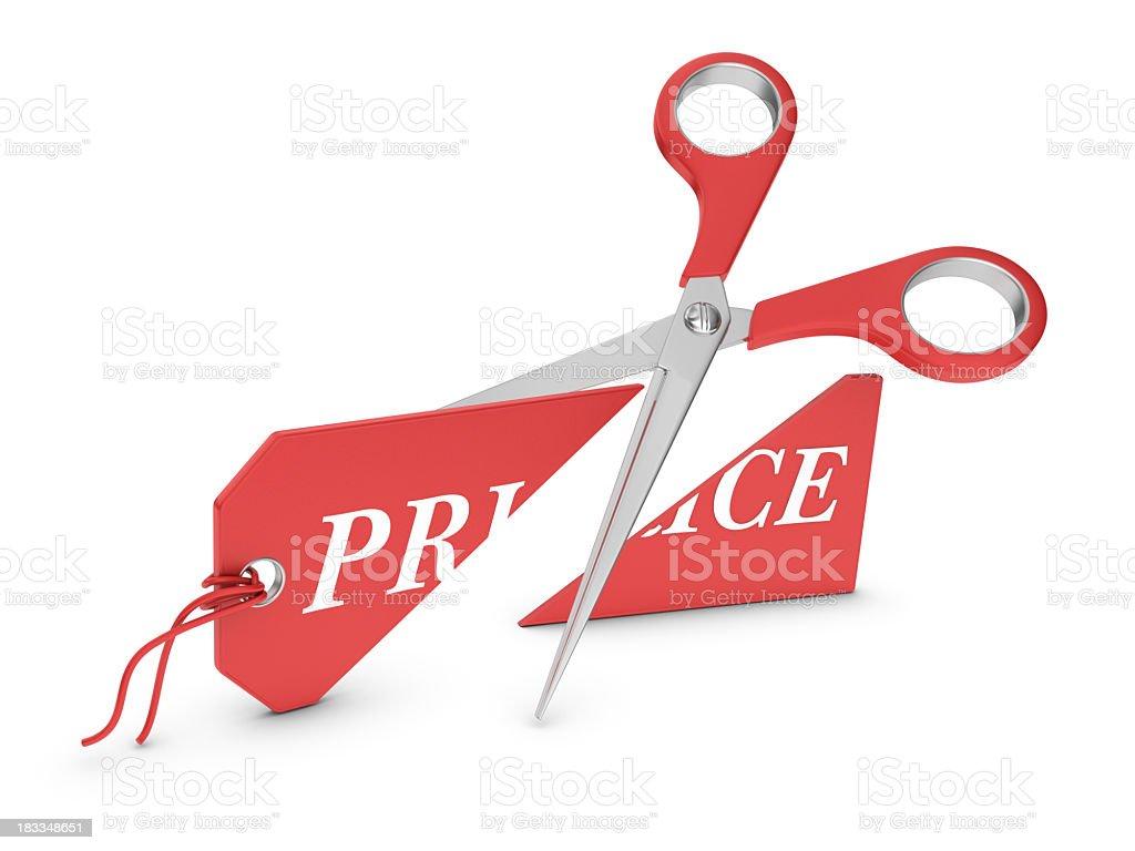 Price Tag - Cutting stock photo