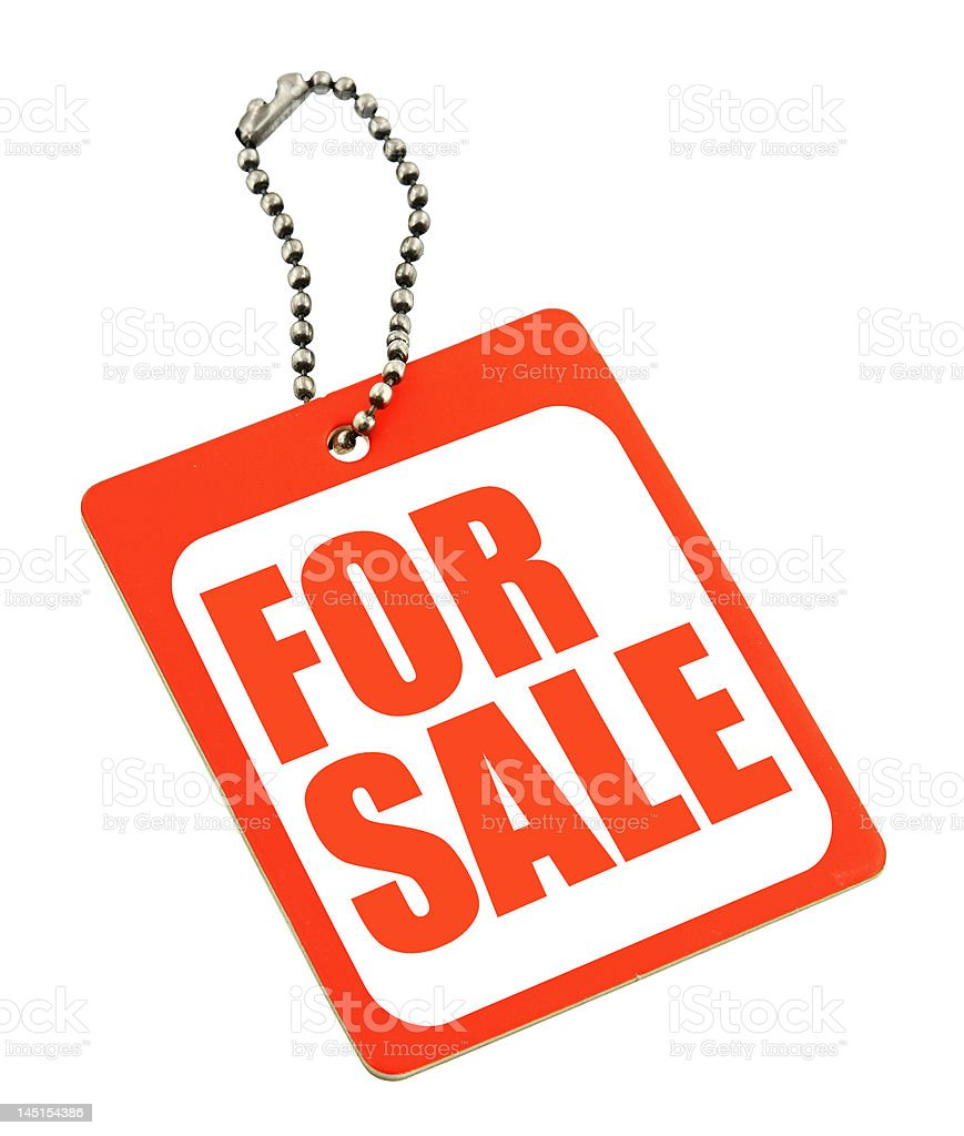 price tag isolated royalty-free stock photo