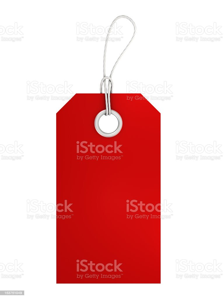 Price Tag royalty-free stock photo
