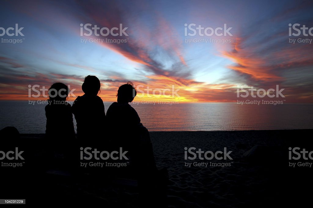Priceless Sunset stock photo