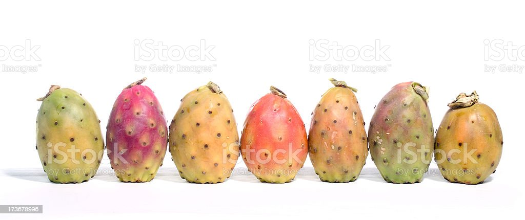 Prickling Pears_11 stock photo