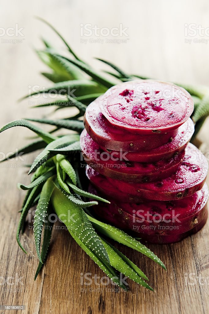 Prickly Pear Fruit stock photo