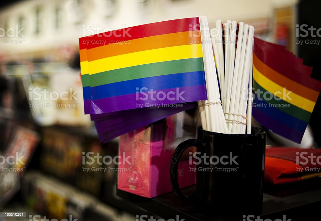 Pride Flags royalty-free stock photo