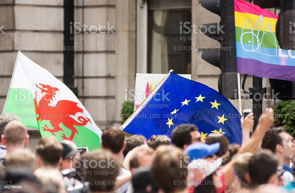 Pride in London Parade stock photo