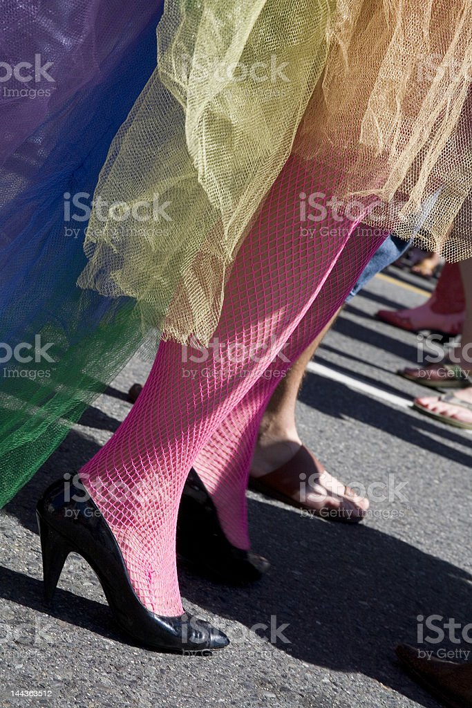 Pride Legs royalty-free stock photo