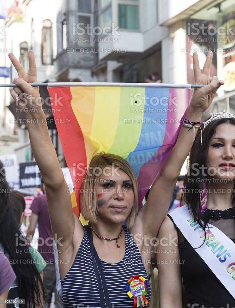 22. LGBT Pride March stock photo