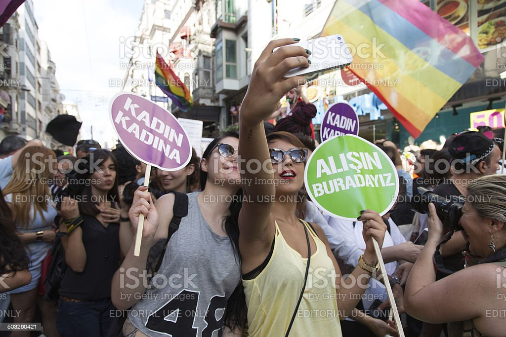 22. LGBT Pride March stock photo