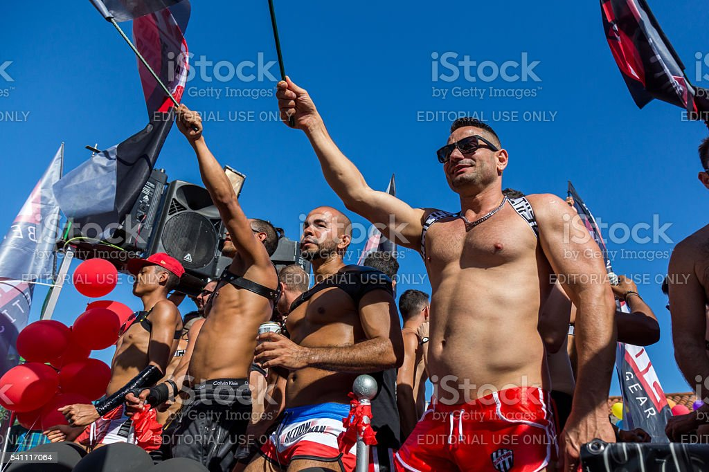 Pride of the lesbian, gay, bisexual and transgender People stock photo